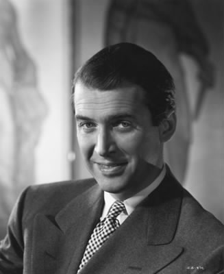 Publicity portrait of James Stewart, 1947. (credit: Courtesy of the Margare