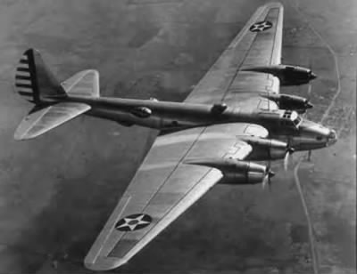 B17 Flying Fortress (contributed by sfalcont to footnote.com)