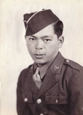Wing T. Sing - Official Army Photo WWII