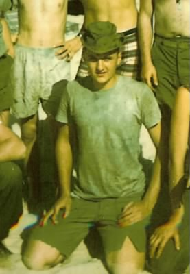 Larry at the CAu Viet , approx january of 67