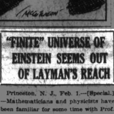 Einstein's theory is inconceivable to you
