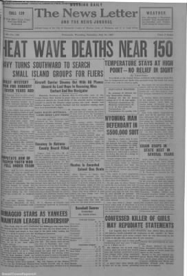1937-Jul-10 News Letter Journal, Page 1