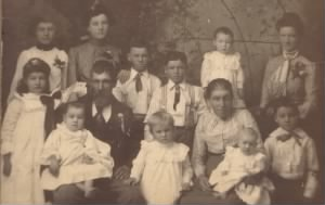 C. C. and Nancy Johnson Family