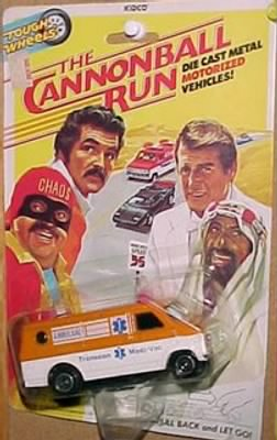 Cannonball Run Ambulance Toy