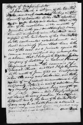Isaac Buck's Revolutionary War Pension File - page 3
