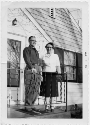 Opal and Russell Darnold 1959
