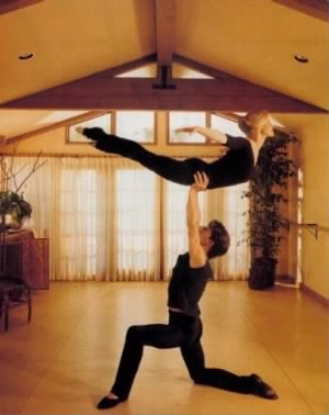 Patrick W Swayze and Lisa Niemi /Swayze Photo