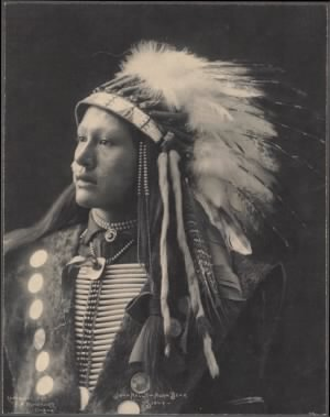 48 - John Hollow Horn Bear, Sioux