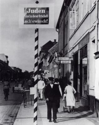 Jews Are In This Place - NotWanted  - Schwedt Germany 1938.jpg - Fold3.com