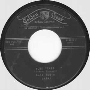 Blue Tears on Golden Crest Records!