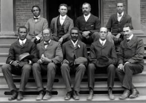George Washington Carver & Tuskegee Institute staff