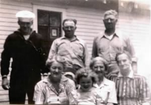 The Craycroft family in 1942