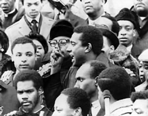Stokely Carmichael at 1967 rally