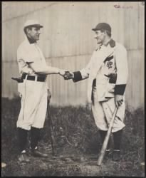 Napoleon Lajoie and Honus Wagner shake hands › Page 1 - Fold3.com