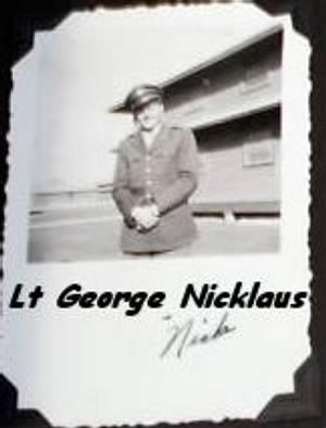 Lt George Nicklaus, Bombardier with the 321stBG,446thBS