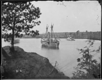 Mathew B Brady Collection of Civil War Photographs › B-6 Dutch Gap Canal, James River. - Fold3.com