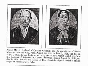 August Markel and Caroline Croissant