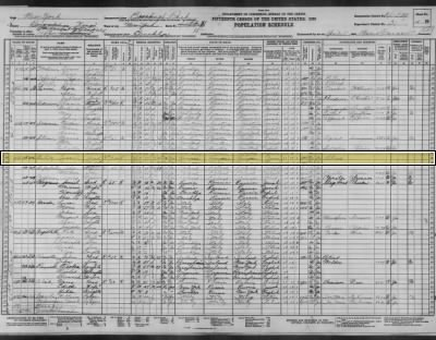 Israel Bality and wife Jennie in 1930 census Brooklyn