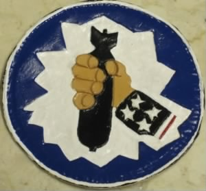 310th Bomb Group EMBLEM, (12th Air Force, 57th Bomb Wing)