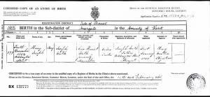 1854 FH-HJW FH-FAMD-093b Henry Joseph Walk Birth Certificate from England 1854-Fix_1.jpg