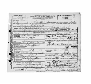 Willie Manigault, W.M. Manigault, Charity Singleton born in Beaufort Death Certificate.jpg