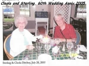 60th Wedding Anniversary, 2005