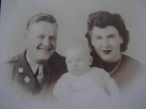 Bob and Jean with son Gary