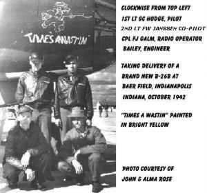 Lt Grover Hodge and CREW/Loss B-26 Crash on Labrador, flight, the NORTHERN Route.
