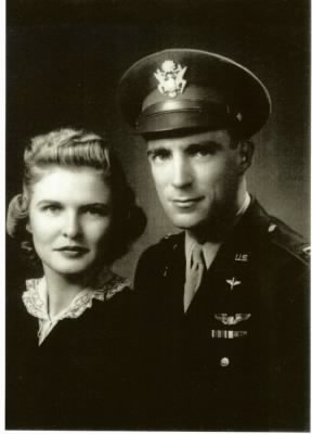 Col Bill and Loraine Bower 1942 - Fold3.com