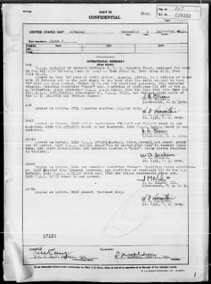 """War Diary, 9/1-30/43 (Act Rep, """"AVALANCHE"""") › Page 1 - Fold3.com"""