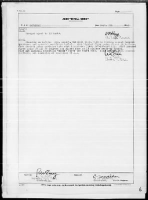 """War Diary, 9/1-30/43 (Act Rep, """"AVALANCHE"""") › Page 6 - Fold3.com"""