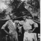 T/Sgt Ed Ennis AAC B-25 RADAR/Radio/Gunner with Nephew James ENNIS, Italy, 1943