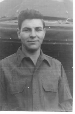 Fred on Corsica during WWII, Crew Chief of the 321stBG, 445thBS MTO