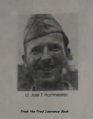 321st BG, 445th BS, Lt Joel Hartmeister, B-25 Pilot, SHOT DOWN 8 Oct.'43 /Lawrence Bo