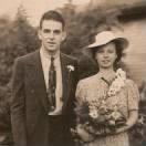 Harold Miller & Marie Rottman Wedding Photo