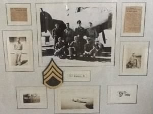 WWII 321st BG, 446th BS, S/Sgt Oscar Kaney, B-25 Combat Crew- 51 Combat Missions