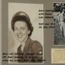 Before going into COMBAT, Robt. was engaged to Lola Hibbard, June, 1943