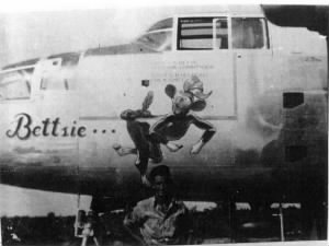 Pilot Capt Don Oliver was KIA in the BETTSIE on 4 April,'45 #43-27737 B-25 J