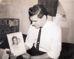Howard Wallace Drew Jr. 1963 In The Air Force Barracks In The Azores