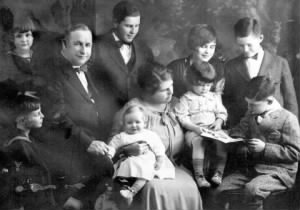 Cahill Family 1926, Concord, New Hampshire