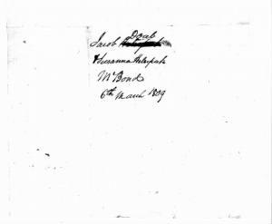 Jacob and Susannah Doub Marriage Bond 1809.jpg