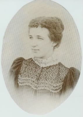 Flora Amos (married name Flora Underwood)