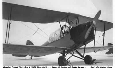 The TIGER MOTH that Ogden Gorman and Jim Bugbee Trained in up in Canada, 1941 - Fold3.com