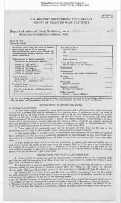 American Zone: Report of Selected Bank Statistics, April 1947 › Page 2 - Fold3.com