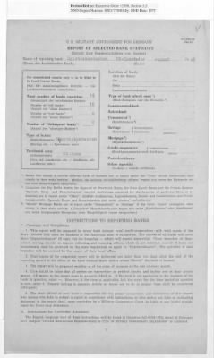 American Zone: Report of Selected Bank Statistics, August 1947 › Page 14 - Fold3.com
