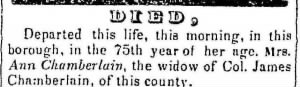 ann sample chamberlain 1843 death notice.jpg