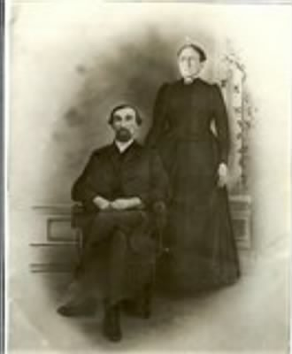 with wife, Susan Danforth Winters