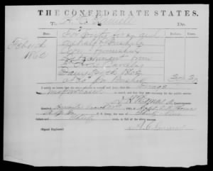 Confederate Citizens Record