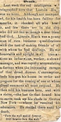 Lincoln Black 1868 Obit.JPG
