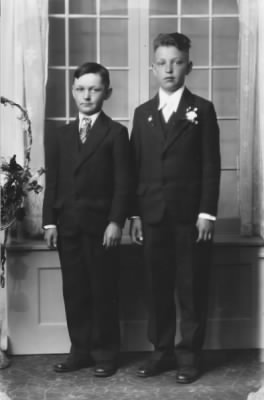Francis A Cychosz and his older brother Raymond J Cychosz